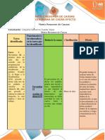Matriz Resumen y Diagrama Causa Efecto_Dayana Rueda Jojoa