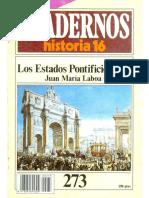Cuadernos De Historia 16 - 273 - Los Estados Pontificios (Y 2).pdf