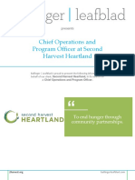 Position Profile - Second Harvest Heartland - Chief Operations and Program Officer