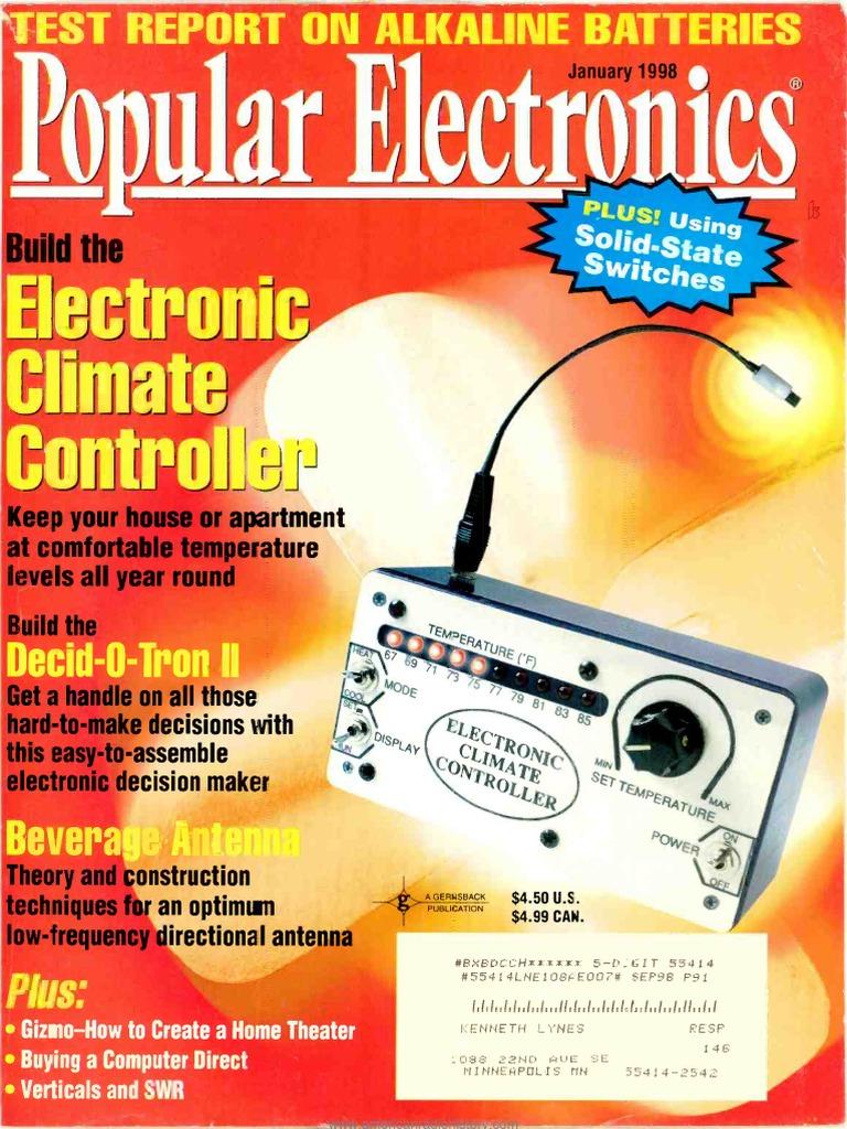 Pe 1998 01 Spice Television Gbppr 1 Ghz Spectrum Analyzer Second Local Oscillator Schematic