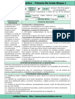 Plan 5to Grado - Bloque 1 Español (2016-2017).doc.doc