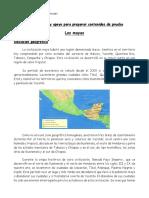 Guia de Apoyo Los Mayas, 4° básico