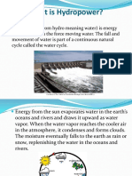 Hydropower- Power Point Presentation
