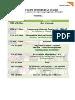 Programa Del Foro 20 Agosto