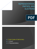 Week 3 - Representation, Parties, Elections-PPND