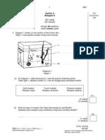 Soalan Percubaan PMR 2010 Sains kertas 2