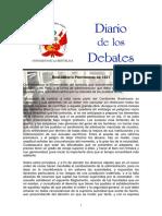 Reglamento Provisional 1821 Peru