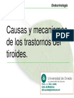 Trastornos tiroideos