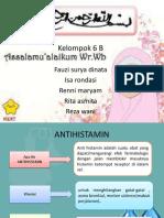Analisa Gol. Antihistamin
