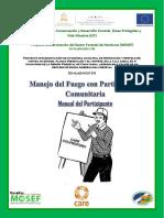 Curso Básico de Manejo Del Fuego Con Participación Comunitaria