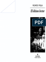 Ernesto Guevara, Rastros de lectura. Ricardo Piglia