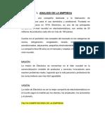 Analisis de Marketing de La Empresa Electrolux