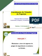 Cfo - Fiscalização de Vegetal