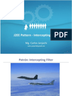 J2EE Pattern - Intercepting Filter