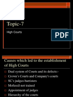 High Courts 1860