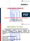 Sesion 6 Habilidades Sociales