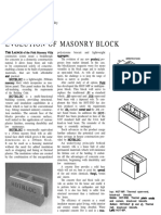 4 Evolution of Masonry Block