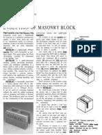 4 Evolution of Masonry Block