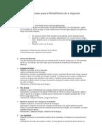 Ejercicios Miofuncionales para la Rehabilitación de la deglución atípica