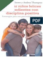Educar Niños Felices y Obedientes Con Disciplina Positiva en PDF 1