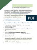SAP BOBI Server Installation Step33