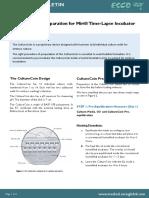 02. CultureCoin Preparation Procedure for Miri Time-Lapse Incubator