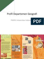 125159903 Profil Departemen Geografi UI