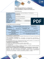 Guia de Actividades y Rubrica de Evaluacion - Fase 1 - Taller Virtual de Modelado Entidad Relación (Modelo Conceptual)