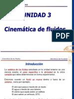 Unidad 3 Cinematica de Los Fluidos