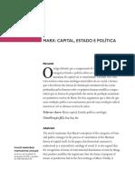 Capital, Estado e Política