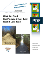 kenora recreational urban trails guide booklet