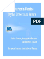 Gas Market in Ukraine