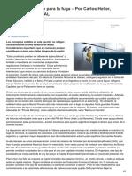 Nodal.am-argentina Vía Libre Para La Fuga Por Carlos Heller Especial Para NODAL