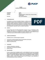 Sílabo Pruebas Escritas 2017-2