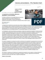 Nodal.am-argentina La Experiencia Universitaria Por Sandra Carli