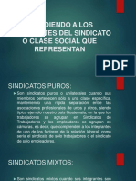 integración de sindicatos