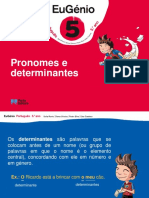 Eug5 Ppt Pronomes Determinantes