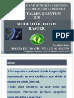 Modelo de Datos Raster