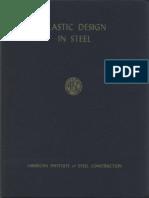 AISC Plastic Design in Steel