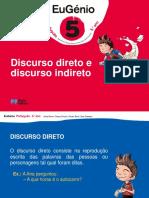 Eug5 Ppt Discurso Direto Indireto