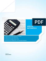 Análise Matemática