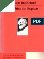 BACHELARD, Gaston. A Poética Do Espaço. Martins Fontes, São Paulo, 1998