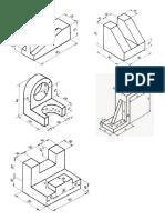 Dibujo Isometricos Con Medidas