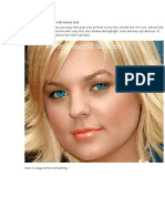 Retouch and Enhance Portrait in Photoshop