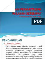 POWER POIN PWS - KIA ( PEDOMAN PEMANTAUAN WILAYAH SETEMPAT KESGA).ppt
