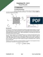 Parcial Resuelto (2015!06!18) - resistencia de materiales