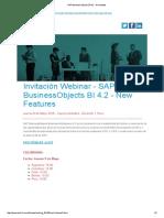 SAP BusinessObjects BI 4