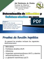Determinación de bilirrubina y fosfatasa alcalina en suero.pptx