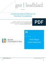 Position Profile - Bush Foundation - Communications Director