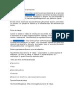 Resumen Español 1er Bimestre